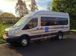 Colyton Grammar School Minibus