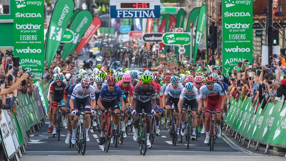 2 x Tour of Britain VIP Hospitality tickets