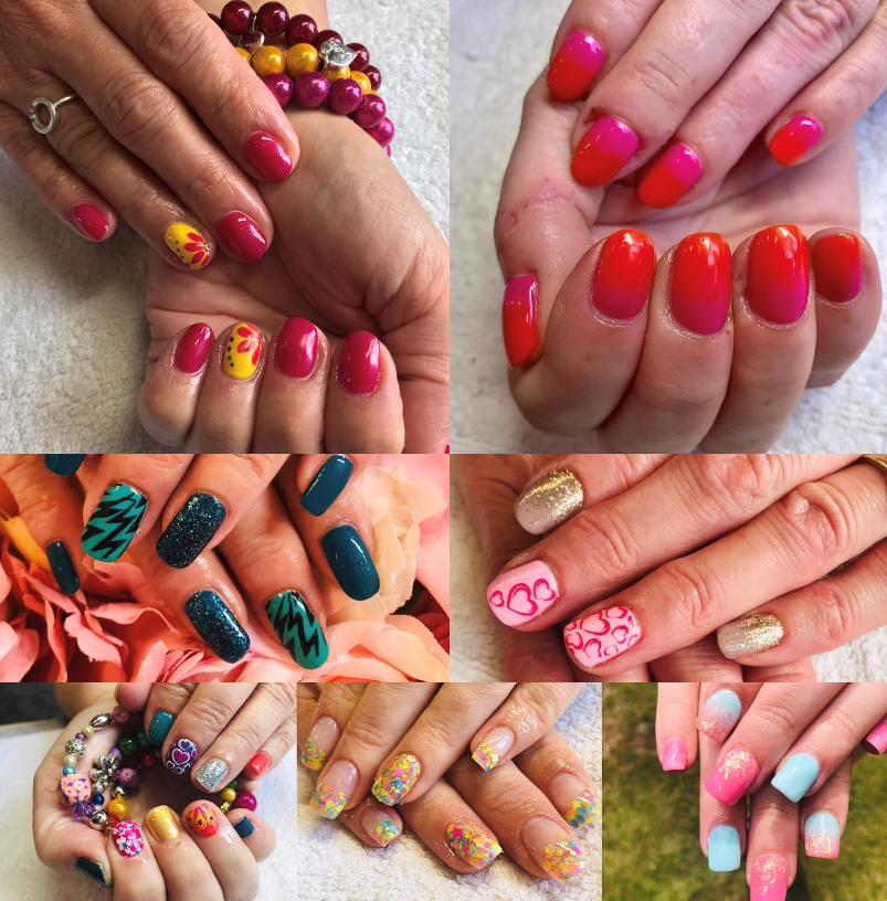 1 x Gel manicure with Nail Art