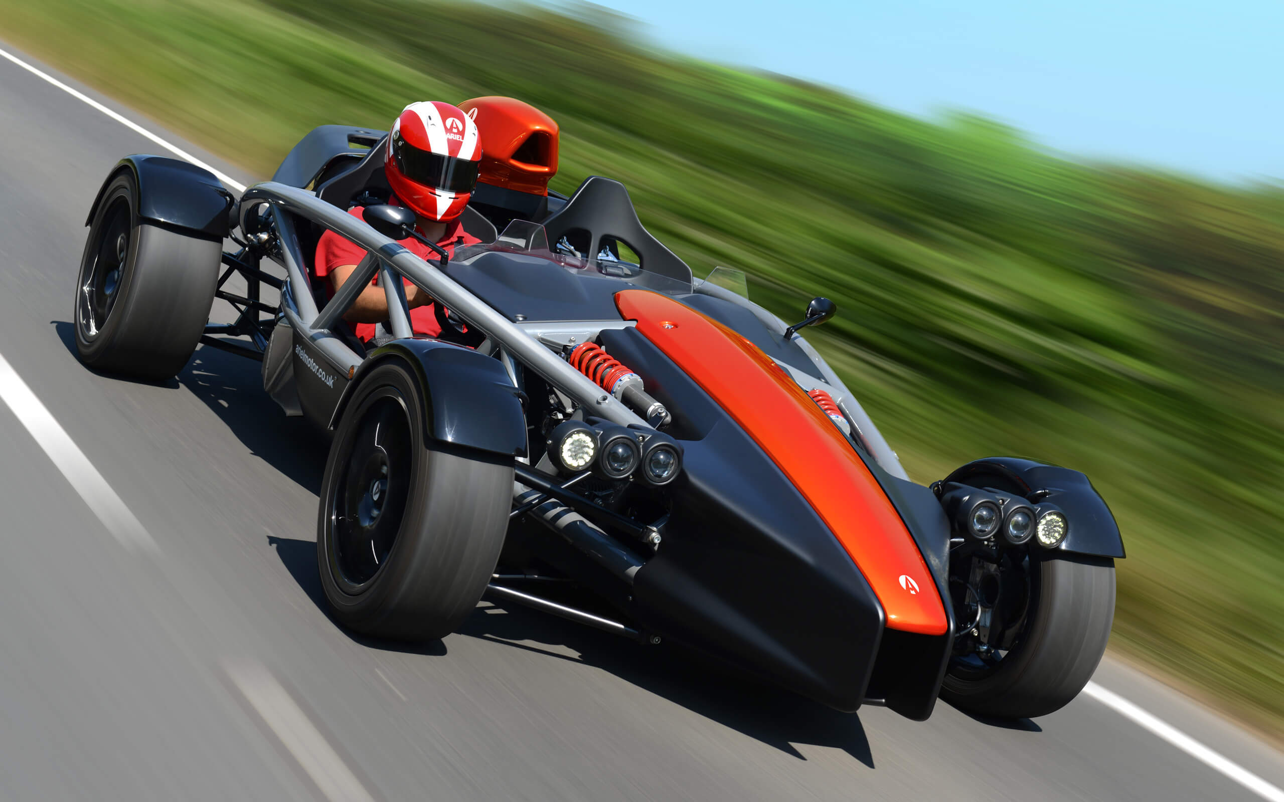 Tour of the Ariel Factory and a passenger ride in the Ariel Atom of Nomad