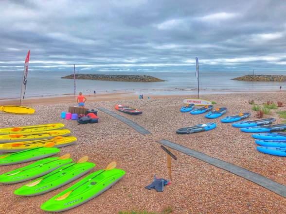 Voucher for a session for 2 people Kayaking or stand-up paddle boarding