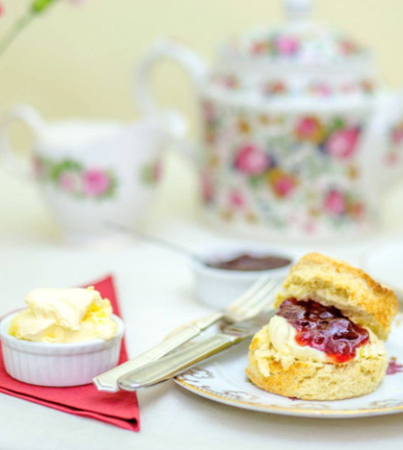 Traditional Cream Tea for 2 people